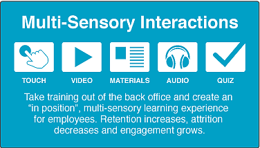 multi sensory interactios
